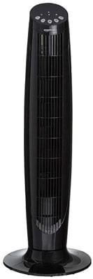 AmazonBasics Digital Oscillating 3 Speed Tower Fan