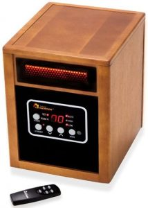 Dr. Infrared Heater with remote
