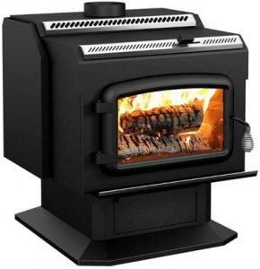 Drolet High-Efficiency Wood Stove Model HT2000