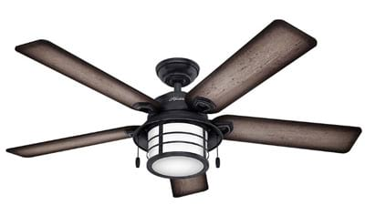 Hunter 59135 Nautical 54-Inch Ceiling Fan from Key Biscayne Collection