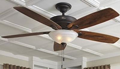 "Hunter-60""-Regalia-New-Bronze-Ceiling-Fan-with-Light"