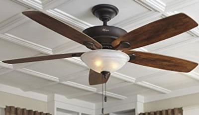 "Hunter-60""-Regalia-New-Bronze-Ceiling-Fan-with-Light"