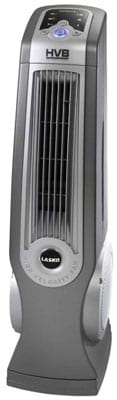 Lasko 4930 Oscillating High-Velocity Tower Fan with Remote Control