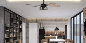 home with ceiling fan
