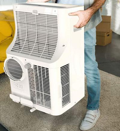lifting the hOmeLabs Portable AC