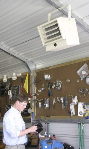 120v garage heater