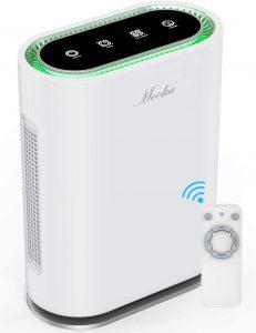 Mooka True HEPA Air Purifier, Ionic & Sterilizer