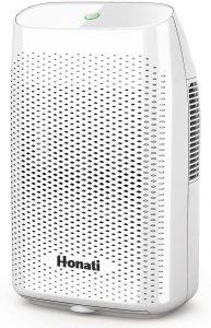 Honati, Ultra Quiet Small Portable Dehumidifier