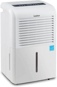 Ivation 4,500 Sq. Ft. Smart Wi-Fi Energy Star Dehumidifier