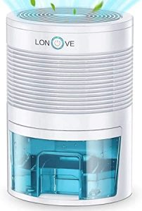 LONOVE Mini Portable Electric Dehumidifier