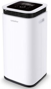 Waykar 70 Pint Dehumidifier with Continuous Drain Hose, Water Tank and 4 Air Outlets