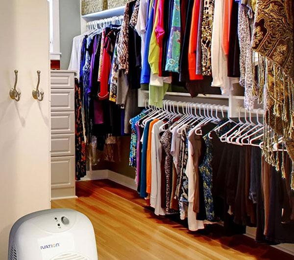 dehumidifier-at-the-closet