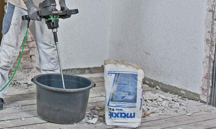 mixing-cement