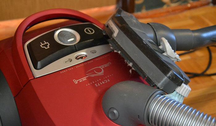 vacuum-cleaning